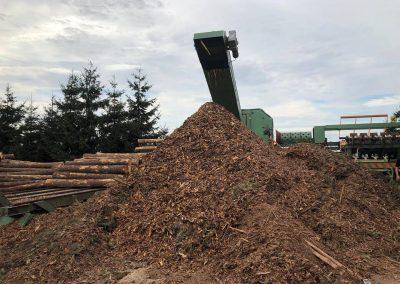 odpad z produkcji drewna